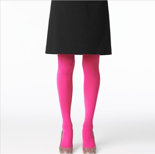 2f446bd9e I love coloured tights especially in the winter! I think joy in the  Christmas season comes from all the colours out there ❤